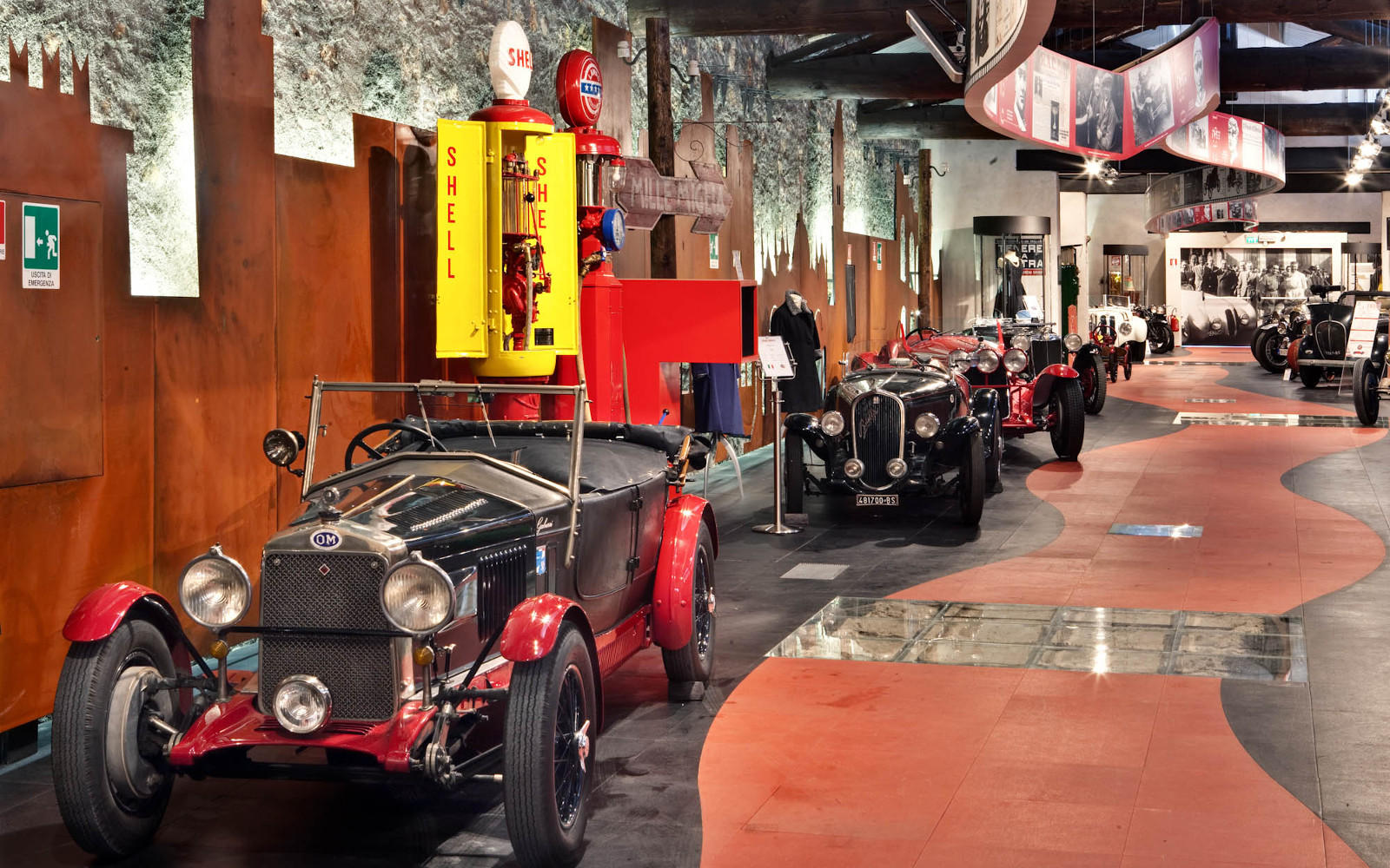GUIDED TOUR OF THE MILLE MIGLIA MUSEUM